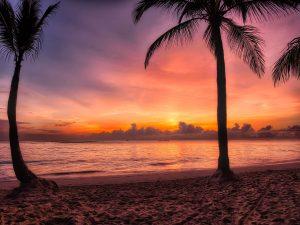 Dominikana - zachód słońca