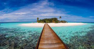 Malediwy - panorama