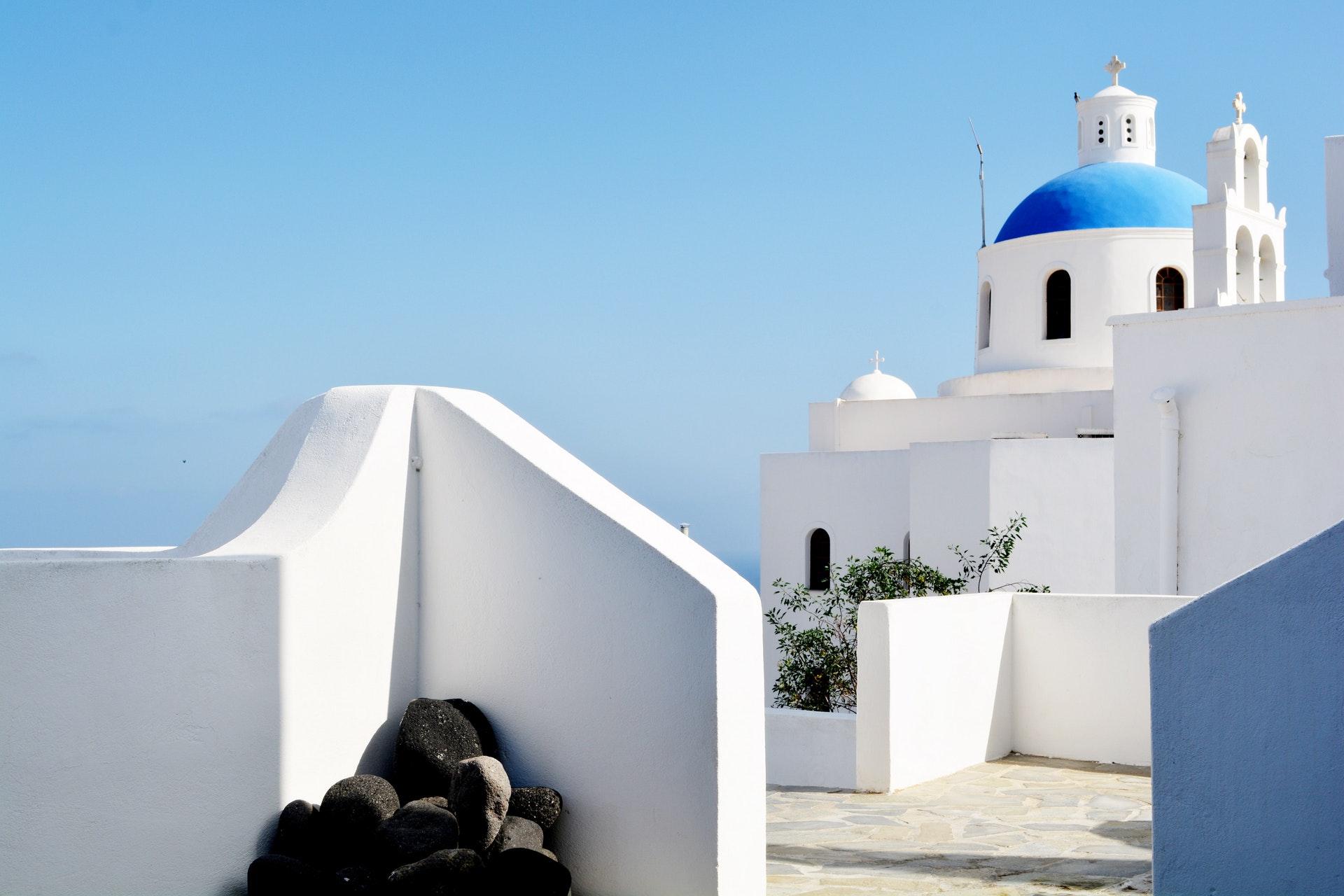 Grecja - budynki