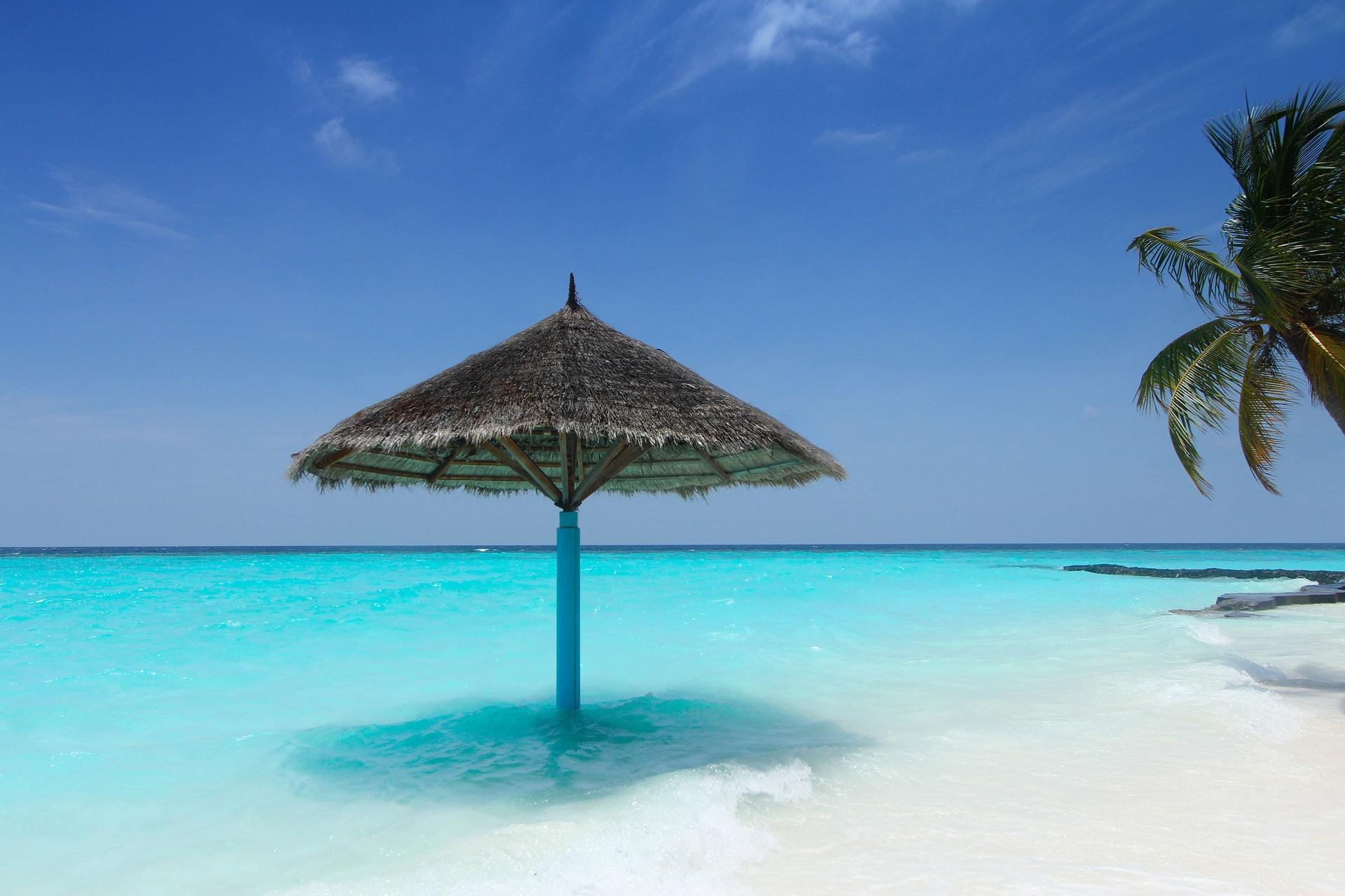 Malediwy - morze
