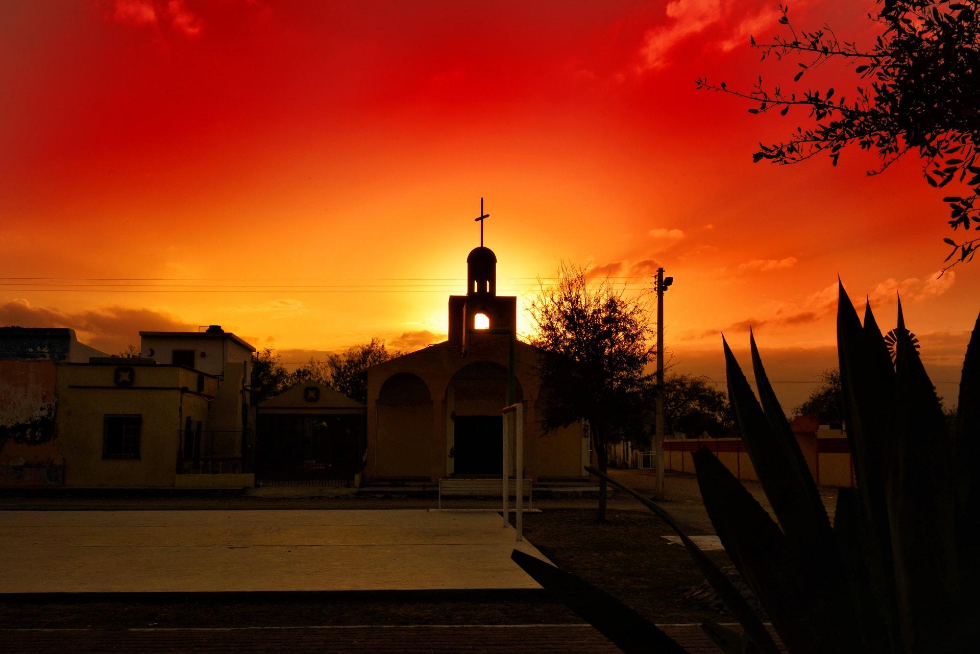 Meksyk - zachód słońca