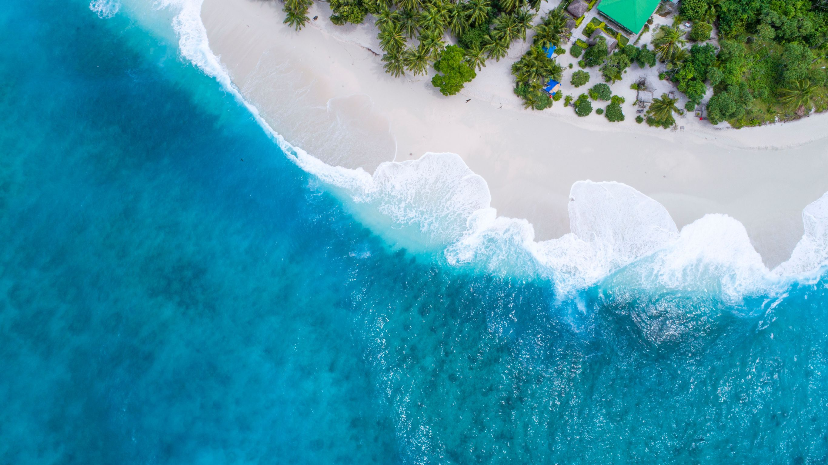 Malediwy - widok z lotu ptaka