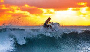 Indonezja - surfer