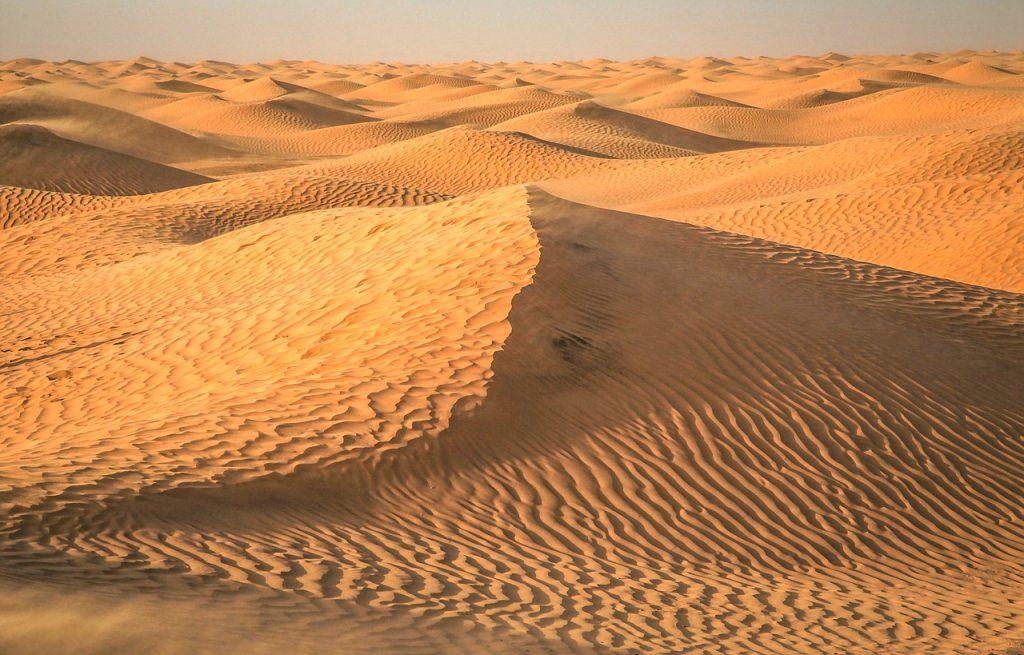piaski pustyni