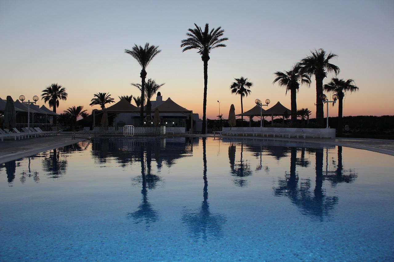 Hotel nad morzem Tunezja
